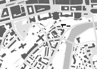 Schwarzplan Um- und Neubau Jugendherberge Bern von Aebi & Vincent Architekten SIA AG