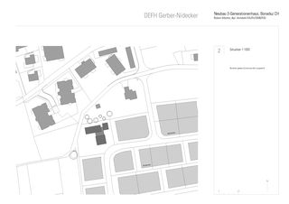 Situation DEFH Gerber Nidecker von Albertin Partner Architekten
