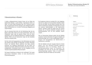 Beschreibung DEFH Gerber Nidecker von Albertin Partner Architekten