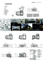 A0 Layout Projektübersicht Erneuerung Stadttheater Langenthal von Aebi & Vincent Architekten SIA AG