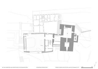 Grundriss EG Stadtmuseum von Diener & Diener Architekten