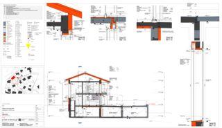 Détail Einfamilienhaus Waldrietstrasse de Marazzi + Paul Architekten AG