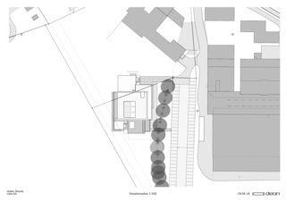 Situationsplan Neubau nolax House von DEON AG