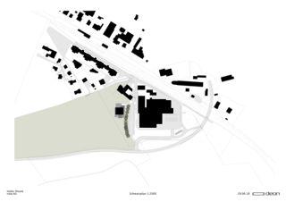 Schwarzplan Neubau nolax House von DEON AG