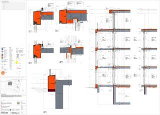 Détail Sonnenarena Langnau von Marazzi + Paul Architekten AG