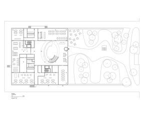 Grundriss_EG Neubau Bürogebäude mit Garage von HILDEBRAND