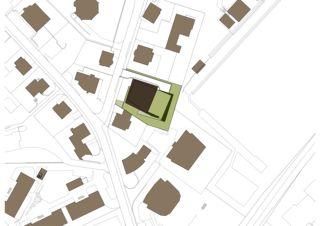 Situation Grossmatt Hergiswil Neubau MFH Grossmatt, Hergiswil von Philipp Wieting - Werknetz Architektur