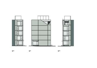 Fassadenansichten ELLI Wohnhaus und Atelier von Holzer Kobler Architekturen GmbH