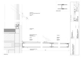 Detailplan ELLI Wohnhaus und Atelier von Holzer Kobler Architekturen GmbH