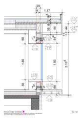 Détail Wohnen und Arbeiten am Waldrand de Reimann Sidler Architekten GmbH