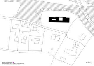 Situation Wohnen und Arbeiten am Waldrand de Reimann Sidler Architekten GmbH