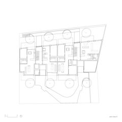 Grundriss Immeuble dixence von françois MEYER ARCHITECTURE
