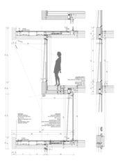 Detailschnitt Immeuble dixence von françois MEYER ARCHITECTURE