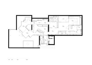 Grundriss  Svizzera 240: House Tour von ARGE Bosshard, Tavor, van der Ploeg, Vihervaara