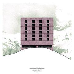 Fassade Süd-Ost XLM von Axel Burkhard