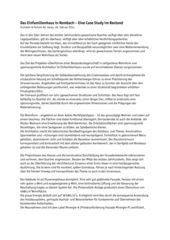 Bericht Ersatzneubau EFH Husistein von Husistein & Partner AG