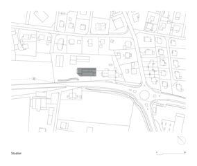 Situation Werkhof Wohlen von Kuithan Architekten GmbH