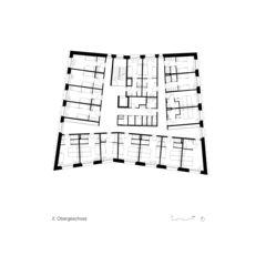 Jugendherberge_Grundriss_OG2 Neubau Jugendherberge Gstaad - Saanenland von Bürgi Schärer Architekten AG