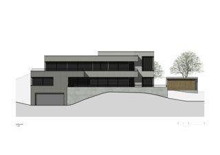 Façade sud EFH Langenbruck de Rosenmund + Rieder Architekten BSA SIA AG