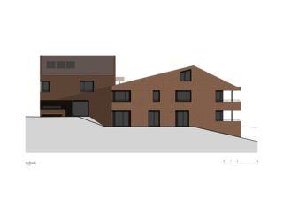 Façade nord Wohnen am Bodenweg de Rosenmund + Rieder Architekten BSA SIA AG