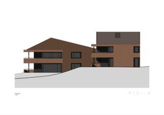Façade sud Wohnen am Bodenweg de Rosenmund + Rieder Architekten BSA SIA AG