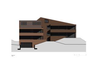 Façade ouest Wohnen am Bodenweg de Rosenmund + Rieder Architekten BSA SIA AG