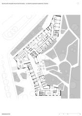 Erdgeschoss Alterspflegeheim Humanitas von Bachelard Wagner Architekten ETH SIA BSA
