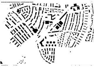 Plan de masse Alterspflegeheim Humanitas de Bachelard Wagner Architekten ETH SIA BSA