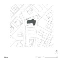 Situation Mehrfamilienhaus Zug de Kuithan Architekten GmbH