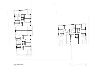 Lutzertgarten_Obergeschoss (gerade) Lutzertgarten Muttenz von Rosenmund + Rieder Architekten BSA SIA AG