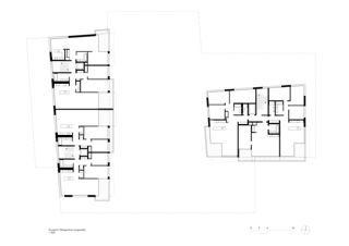 Étagesupérieur (impaire) Lutzertgarten Muttenz de Rosenmund + Rieder Architekten BSA SIA AG