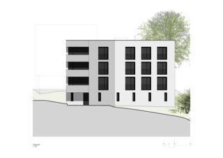 Sonnenweg_Ostfassade Wohnen am Sonnenweg von Rosenmund + Rieder Architekten BSA SIA AG