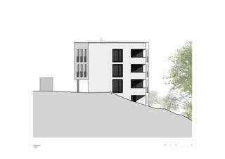 Sonnenweg_Südfassade Wohnen am Sonnenweg von Rosenmund + Rieder Architekten BSA SIA AG