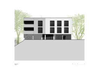 Sonnenweg_Westfassade Wohnen am Sonnenweg von Rosenmund + Rieder Architekten BSA SIA AG