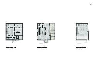 Plans Blickfang de Hunkeler Partner Architekten AG