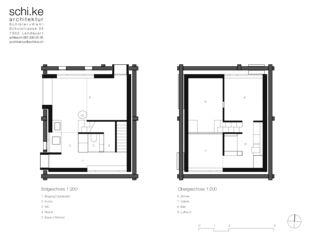 Grundrisse Maiensäss Schwäderloch von schi.ke Architektur Schibler + Kehl