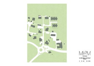 Situation Les Villas Patios von MHPM architectes Sàrl