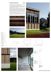 Plakat Sporthalle Matzendorf von Kuithan Architekten GmbH