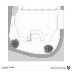 Grundriss Vorplatz Raiffeisen Regio Frick von PO4 seiler + den hartog architekten gmbh