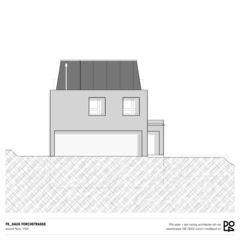 Vue nord Haus Forchstrasse de PO4 seiler + den hartog architekten GmbH