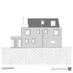 Vue est Haus Forchstrasse de PO4 seiler + den hartog architekten GmbH