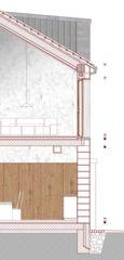 Detailschnitt casa diagonal von