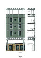Fassadenausschnitt readymade von