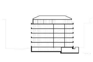 Längsschnitt Städtisch Wohnen in Zürich von ADP Architektur Design Planung AG