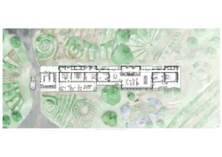 Wohnebene (1:50) - Umgeben vom Permakulturgarten Permatektur - Der Weiler als Impuls für die Entwicklung der Kulturlandschaft von