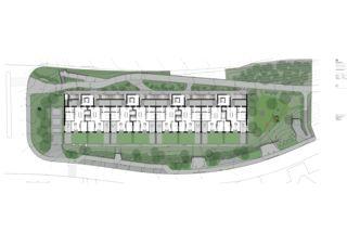 Erdgeschoss Mehrfamilienhaus Adlikon von Felix Partner Architektur AG