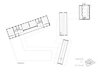 2. Obergeschoss Primarschulanlage Feldmeilen de neon|deiss