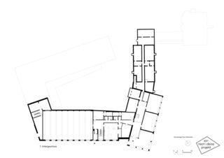1. Untergeschoss Primarschulanlage Feldmeilen de neon|deiss