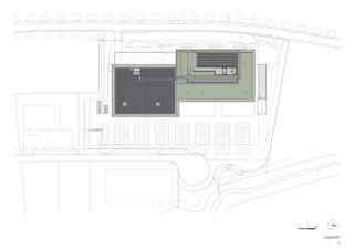 Lageplan: ATP architekten ingenieure IWC, Schaffhausen von ATP architekten ingenieure (Zürich)
