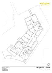 Plan niveau 0 MFH Rigistrasse de WR Architekten AG
